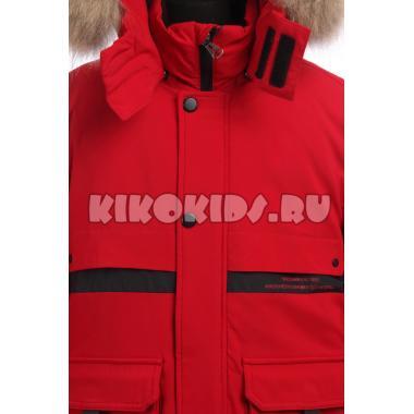 Зимняя куртка KIKO для мальчика ФРОЛ (красный), 9-14 лет
