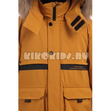Зимняя куртка KIKO для мальчика ФРОЛ (горчица), 9-14 лет