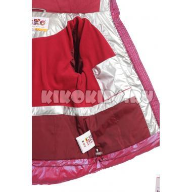 Купить Зимний комплект Kiko для девочки  (вишня/серый), 4-7 лет