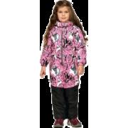 Демисезонный комбинезон STELLA KIDS для девочки  PEONY (белый/розовый), 3-6 лет