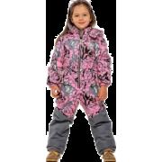 Демисезонный комбинезон STELLA KIDS для девочки PEONY  (розовые розы), 3-6 лет