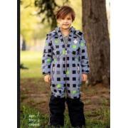 Демисезонный комбинезон STELLA KIDS для мальчика MATRIX (серый), 3-6 лет