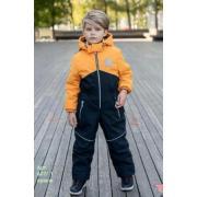Демисезонный комбинезон STELLA KIDS для мальчика SPORT (оранж), 4-8 лет