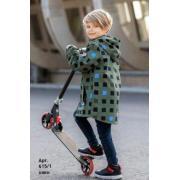 Ветровка STELLA KIDS для мальчика МАТРИЦА (Хаки), 4-10 лет