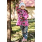 Ветровка STELLA KIDS для девочки БАНТ (малина), 2-6 лет