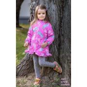 Ветровка STELLA KIDS для девочки (розовый), 2-6 лет