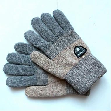 Теплые перчатки для мальчика VACSS (бежевый), 8-12 лет