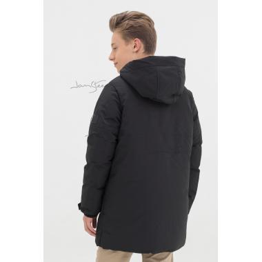Зимняя куртка для мальчика JAN STEEN (черный), 10-14 лет