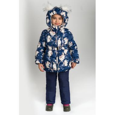 Купить Зимний комплект для девочки BOOM by ORBY (синий), 2-7 лет