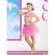 Юбка пляжная для девочек + ободок GN 031505A AF Belinda (розовый)
