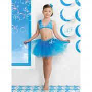 Юбка пляжная для девочек + ободок GN 031505A AF Belinda (голубой)