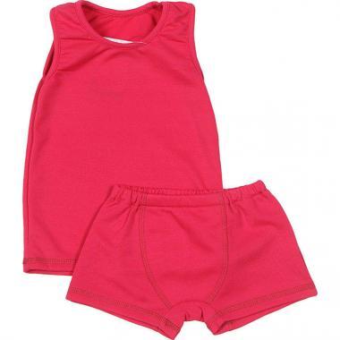 Термокомплект BONDINI для девочки Super Dry (малина), 1-8 лет