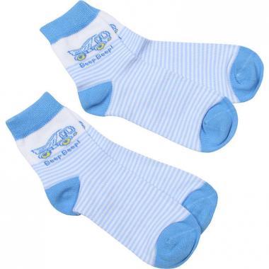 Носки RuSocks для мальчика с рисунком 2 пары (голубой), 1-7 лет
