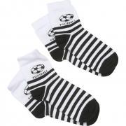 Носки RuSocks для мальчика с рисунком 2 пары (белый/черный), 1-7 лет