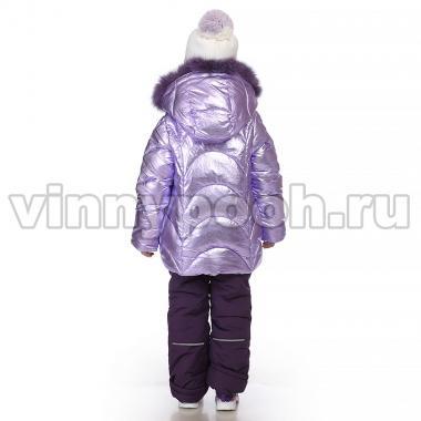 Купить Зимний комплект Kiko для девочки ПОЛЛИ (сирень/черника), 3-8 лет