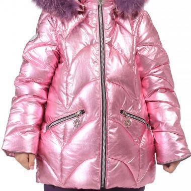Купить Зимний комплект Kiko для девочки ПОЛЛИ (розовый/черника), 3-8 лет