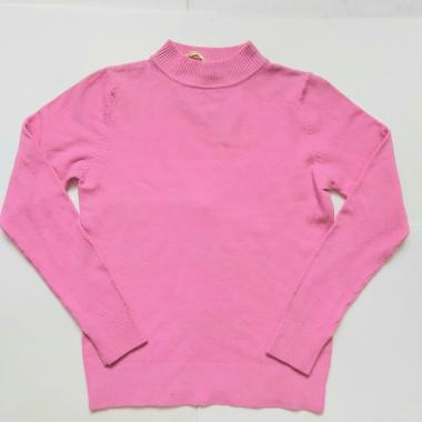 Джемпер для девочки (розовый), 6-10 лет