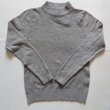 Джемпер для мальчика (серый), 6-10 лет