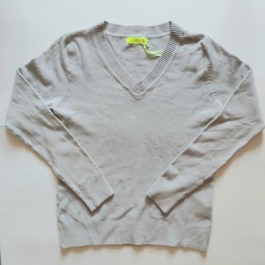 Джемпер для мальчика (светло-серый), 6-10 лет