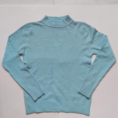 Джемпер для девочки (голубой), 6-10 лет