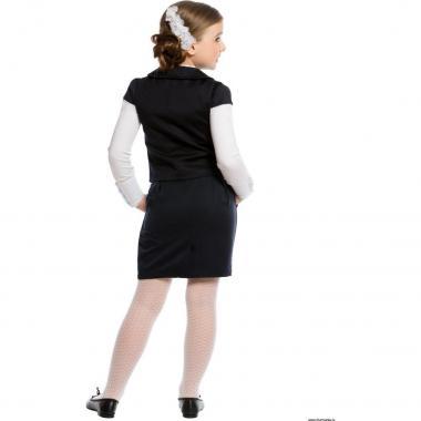 Жилет для девочки CHARMANTE (черный), 7-15 лет
