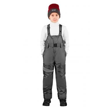 Зимний полукомбинезон BOOM! by Orby для мальчика (графит), 1,5 года-12
