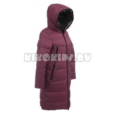 Зимнее пальто KIKO для девочки СЕЛЕНА (брусника), 9-14 лет