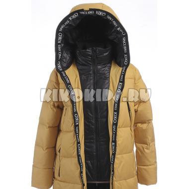 Зимнее пальто KIKO для девочки СЕЛЕНА (горчица), 9-14 лет