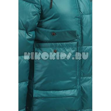Зимнее пальто KIKO для девочки МОНА (изумруд), 10-15 лет
