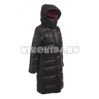 Зимнее пальто KIKO для девочки МОНА (черный), 10-15 лет