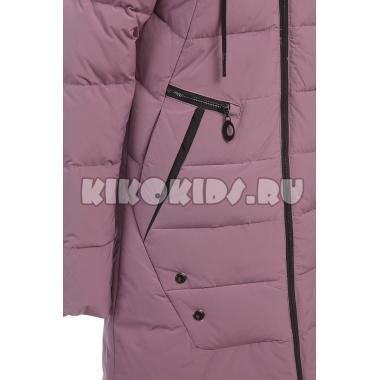 Зимнее пальто KIKO для девочки СТЕФАНИЯ (джинс), 8-12 лет