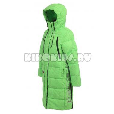 Зимнее пальто KIKO для девочки АВРОРА (зеленый), 7-11 лет