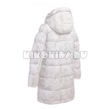 Зимнее пальто KIKO для девочки АВРОРА (белый), 7-11 лет