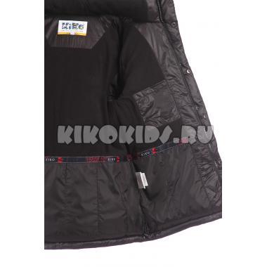 Зимняя куртка KIKO для мальчика (черный), 11-15 лет