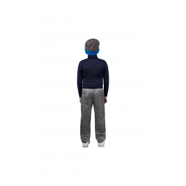 Брюки на флисе BOOM! by Orby для мальчика (серый меланж), 1,5 года - 15 лет