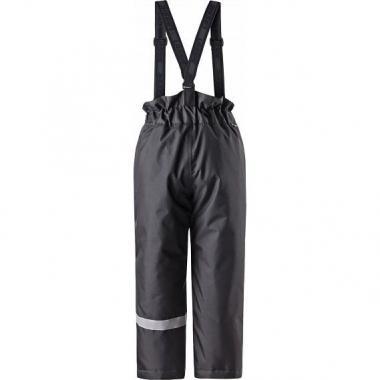 Зимние утепленные брюки Lassie для мальчика (черный), 6-10 лет