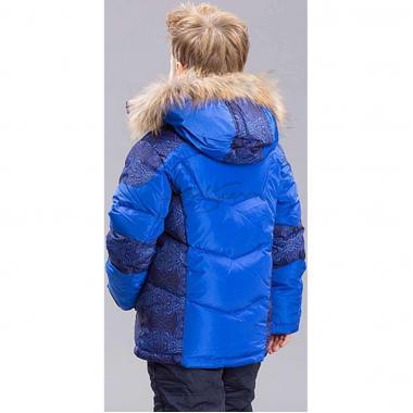 Зимний комплект для мальчика BILEMI (ярко-синий), 2 - 8 лет