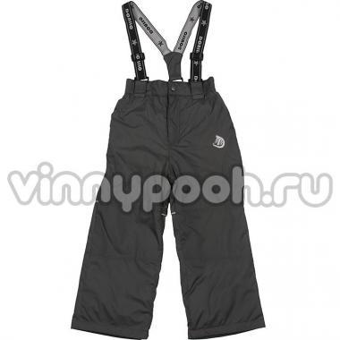 Утепленные брюки Donilo на тинсулейте (темно-серый), 5-8 лет