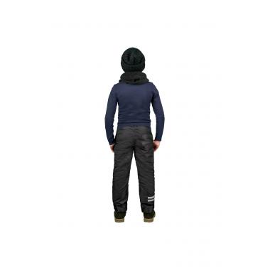 Брюки на флисе BOOM! by Orby для мальчика (черный), 1,5 года - 13 лет