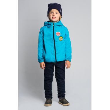 Весенняя ветровка BOOM! by Orby для мальчика (голубой), 1,5-13 лет