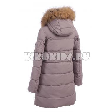 Зимнее пальто KIKO для девочки ЖДАНА (серый), 8-12 лет