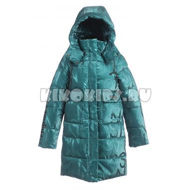 Зимнее пальто KIKO для девочки ЛИНА (изумруд), 7-12 лет