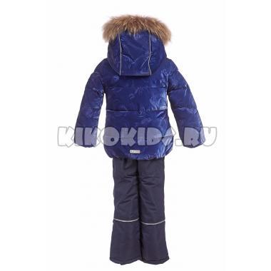Купить Зимний комплект Kiko для девочки МЕЛИНДА (синий), 3-8 лет
