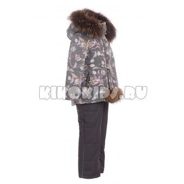 Купить Зимний комплект Kiko для девочки САМАНТА (серый), 1-4 года