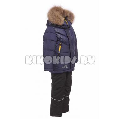 Зимний комплект Kiko для мальчика (синий/черный), 3-8 лет