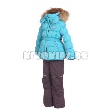 Купить Зимний комплект Kiko для девочки ВИОРИКА (голубой), 1-6 лет