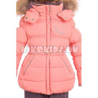Купить Зимний комплект Kiko для девочки ВИОРИКА (персик), 1-6 лет