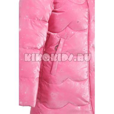 Зимнее пальто KIKO для девочки АРИНА (розовый), 5-9 лет