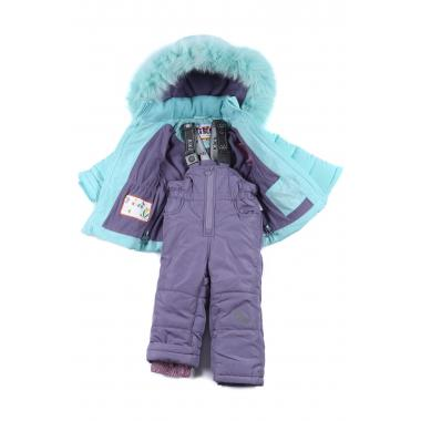 Купить Зимний комплект Kiko для девочки АГНИЯ (мята), 9 мес. - 3 лет
