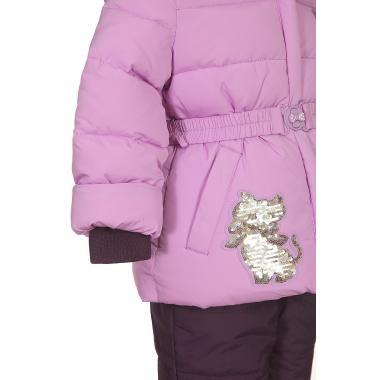 Купить Зимний комплект КИКО для девочки (сирень/черника), 1,5 - 6 лет